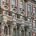 Grand Residence 21 julkisivu
