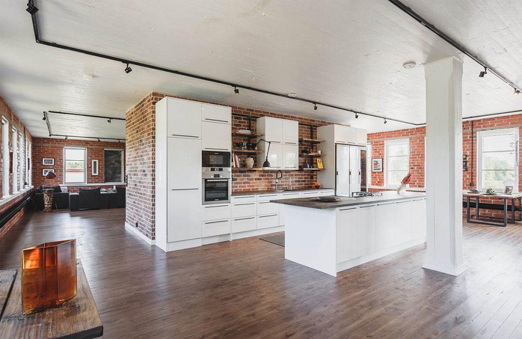 Harri Höglundin loft keittiö