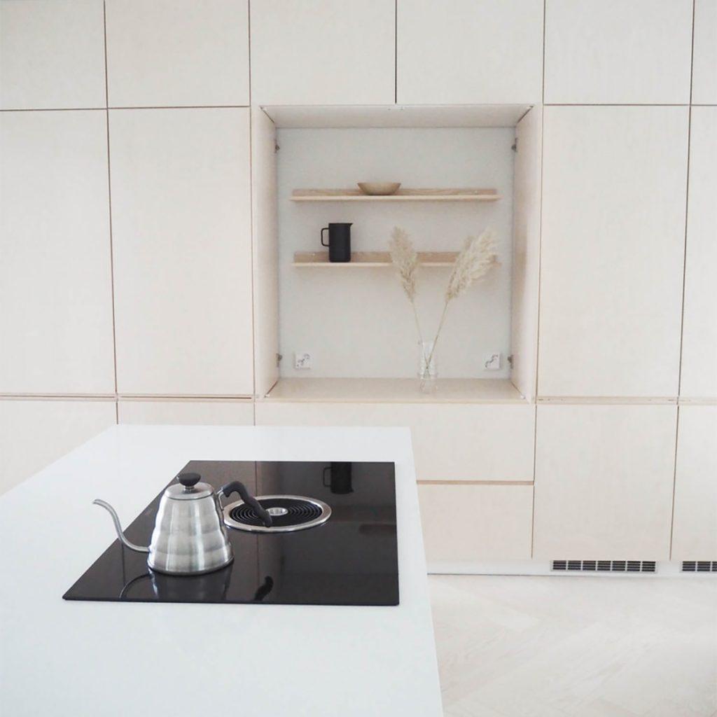 Lainahöyhenissä keittiön bora basic plus