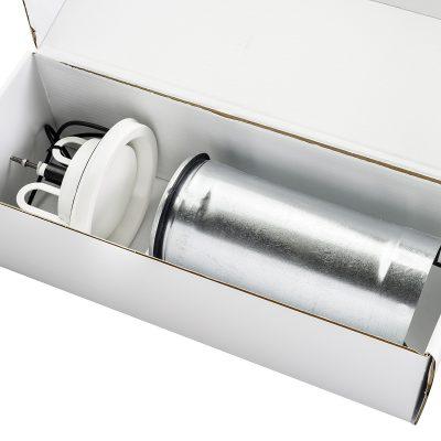 Savo tehostusventtiilisarja mV-125 avatussa pakkauslaatikossa.